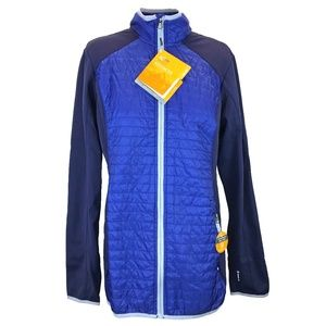 Champion NWT Blue Quilted Performance Jacket XL